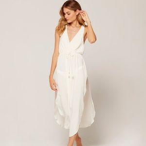 L*Space Swim Cream KENZIE Cover Up Dress